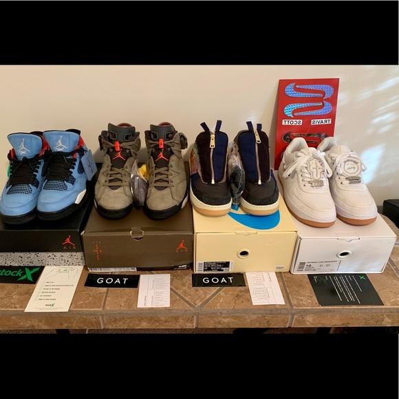 Travis Scott Collection Sneaker Heads